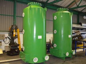 Biogas siloxane scrubber