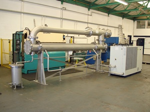Biogas dehumidifier, Crewe WwTW, UK