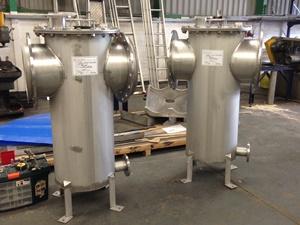 Condensate pots, OSCAR Bioenergy, Hong Kong