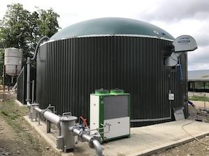 Biogas dome