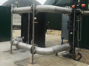 Biogas Cooling System, AEL Biogas, UK