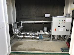 reheater-biogas