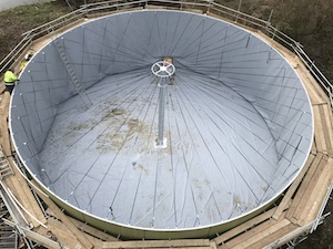 Digester refurb, Holtwood Farm, UK