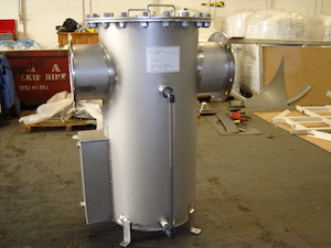 Condensate pot for Hastings WwTW