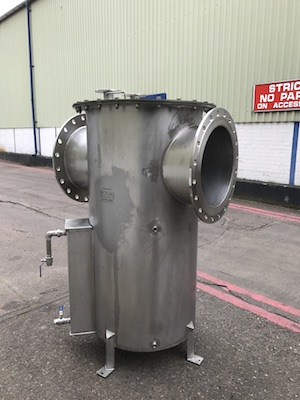 Condensate pots UK manufactured for export to Hong Kong