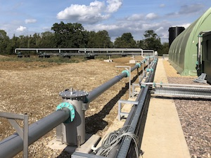 Gas pipework systems