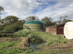 Holtwood farm digester after refurbishment