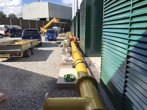 Natural Gas Steel Pipework, BUSE Gas, UK