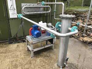 Holtwood farm gas mixing system