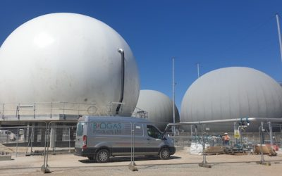 Biogas Products secure multiple gas holder installations in 2019