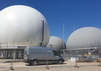 Hull STW – Membrane Gas Holders