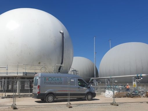 Hull STW – Membrane Gas Holders