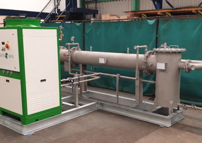 Biogas Dehumidifier designed, manufactured and tested at our fabrications workshop