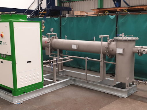 Biogas Dehumidifier, Belmenach Brewery
