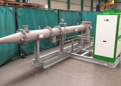Biogas dehumidifier ready for delivery to Belmenach Brewery in Scotland