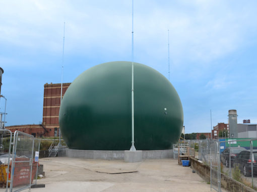 Biogas Holder – Oldham WwTW