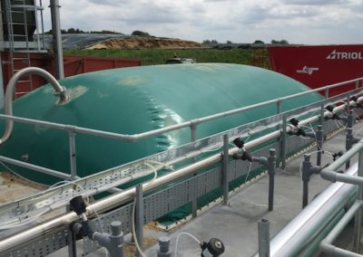 Blisworth digester cover rectangular
