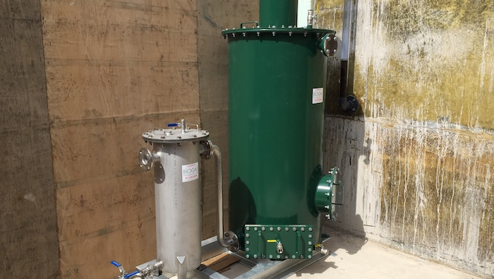 Biogas reheater for Esholt Wastewater Treatment Works
