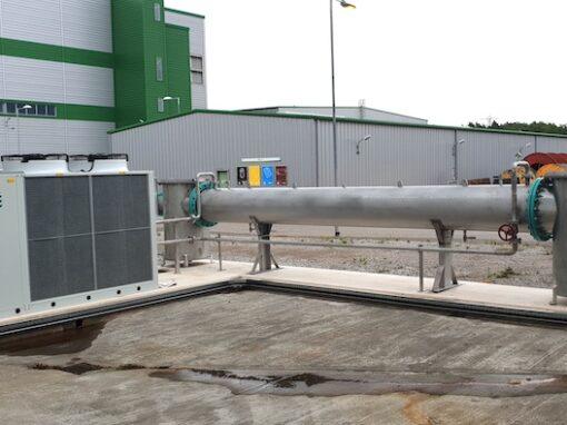 Saica Paper – Biogas Cooling System