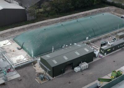 Rectangular gas holder – Colony Farm